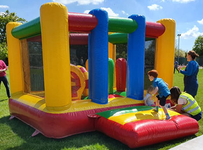 13x11ft Bouncy Castle for children under 7 years of age