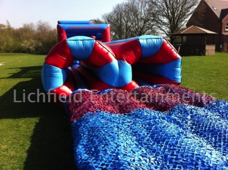 Inflatable Assault Course for adults for hire