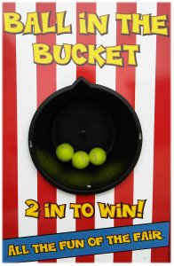 Ball in the Bucket Side Stall Game Hire