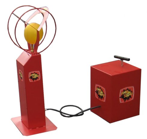 Balloon Detonator Game - two player race to burst the balloon game for hire