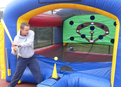 Baseball Target inflatable game