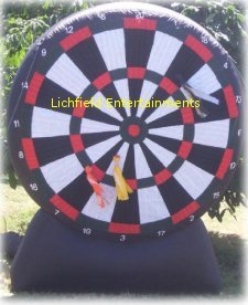 Giant Dart board inflatable game