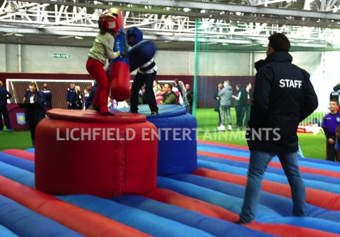 Gladiator Duel Inflatable Hire