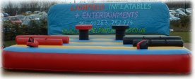 Gladiator Joust inflatable game - perfect for any Olympic theme event
