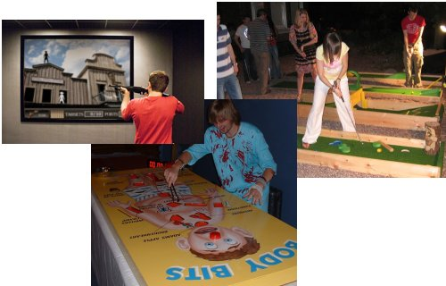 Indoor Games and Activities for indoor Corporate Events