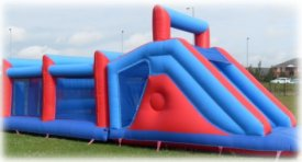 Inflatable Obstacle Course - perfect for any Olympic theme event