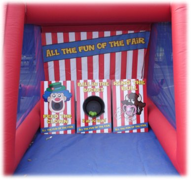 Inflatable Side Stall Game Hire